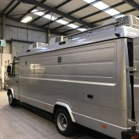 6 Camera Capable Mercedes Vario LWB High Roof DSNG OB1