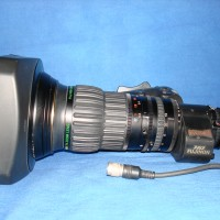 HD wide angle zoom lenses with 2x doublers, for B4 mount cameras