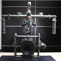 Complete gimbal with accessories