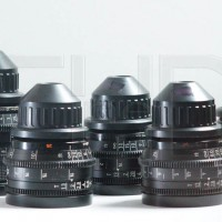 Set of 5 vintage Zeiss T1.3 film lenses