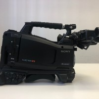 Sony PMW-320K with Canon x13 Lense