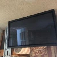 43inch Plasma Monitor with wall bracket