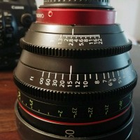 Very lightly used, the lens is in great condition.
