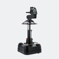 Robotic pedestal with head