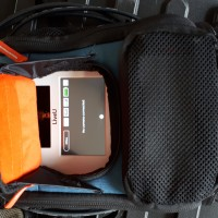 LiveU LU500 backpack with LU2000 decoder