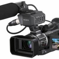 Professional SD/HD HDV Camcorder
