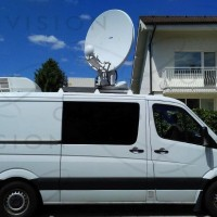 HD KU Band Left Hand Drive DSNG 1+1 . Mercedes 313 CDI