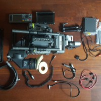 Sony F65RS/VF F65RS Camera with HDVF-C30WR Viewfinder + full set of accessories