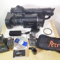 HD P2 camcorder with 369 hrs use + accessories