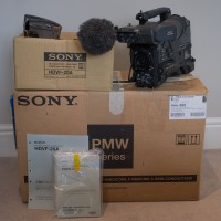 PMW 500 with HDVF 20A Viewfinder included!