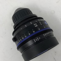 Used Carl Zeiss CP3 25mm Lens  £3000 ex VAT