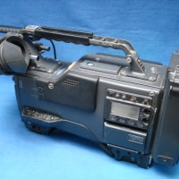 Professional broadcast NTSC American and Japanese standard Betacam SP camera and recorder (camcorder) set, for television use.