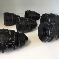 Carl Zeiss Ultra Prime PL mount set of 8 lenses 14, 16, 20, 24, 32, 50, 85 and 135mm (all used)
