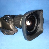 Enclosed are pictures of a Canon HJ14 X 4.3 B IRSE lens wide angle HD zoom lens with 2x doubler.