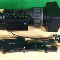 Canon HJ40 X 14B IASD - V tele lens with 2x doubler and SUP-300 supporter with Canon SS41 IASD servo controls kit,