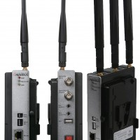 Wireless SD/HD/3G-SDI Solution with 900m (3,000 ft) Radio Coverage at Line of Sight SD/HD/3G-SDI input and output : up to 1080p60 SDI Looped output on the transmitter