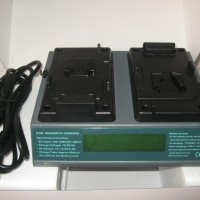 Professional camcorder battery charger