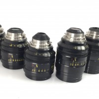 Set of 8 Cooke S4i Mini Lenses