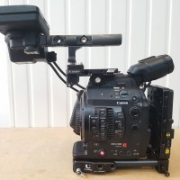 EF mount HD camcorder with 806 hrs +accessories