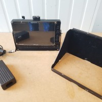 7 inches LCD monitor with V-mount adapter and power adaptor