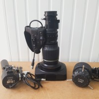 HD Wide angle lens with extender + remotes ZSD-300D + FPD-400D