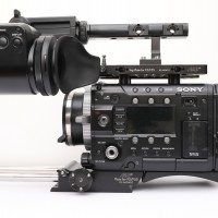 Sony F55 with top of the range OLED Viewfinder & ARRI plates and handles