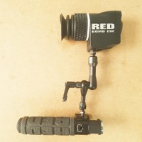 OLED BOMB EVF for RED cameras with grip