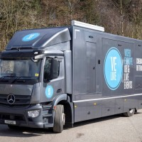 Mercedes Antos OB Truck and Tender