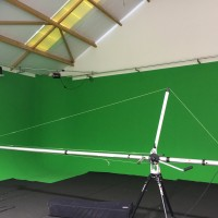 3 and 6 meters crane with tripod in flight cases