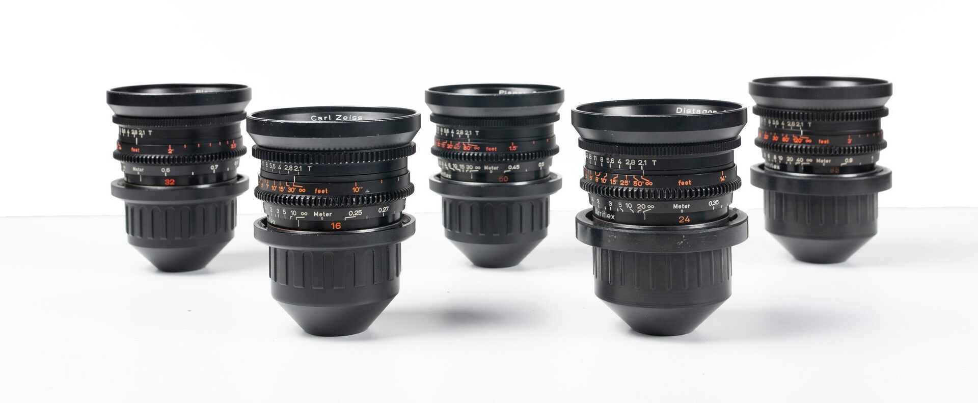 Zeiss Standard Prime T2.1 16, 24, 32, 50 85mm set - Image #1
