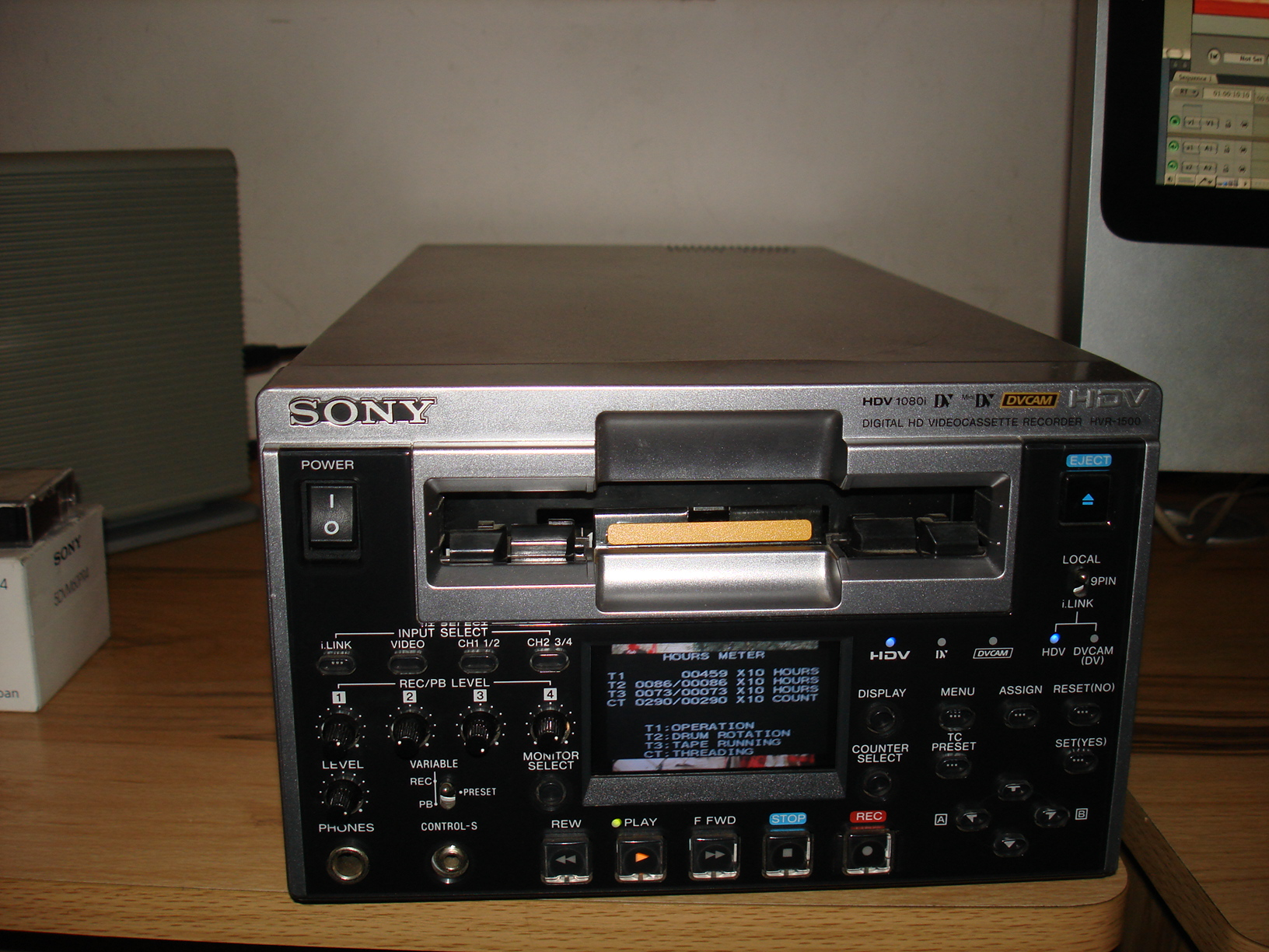 Sony HDW M2000 and HVR 1500 - Image #1