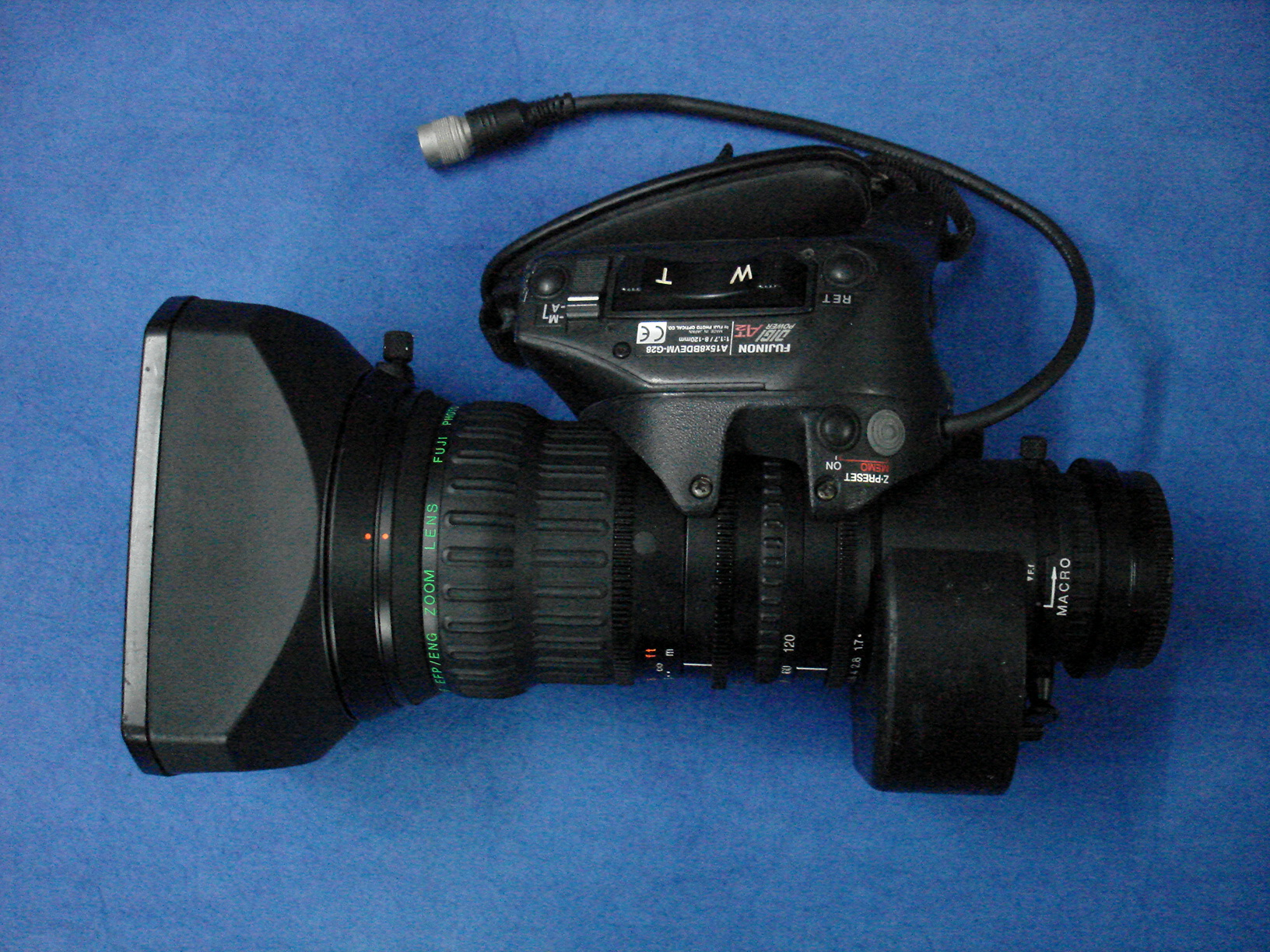 Fujinon Fujinon A15 X 8 doubler lens - 16:9 switchable WRS version with 2x extender - Image #1
