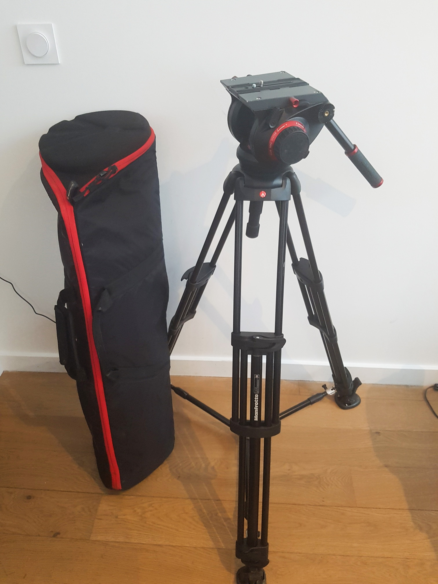 MANFROTTO 509HD + 545BK + MBAG100PNHD - Image #1