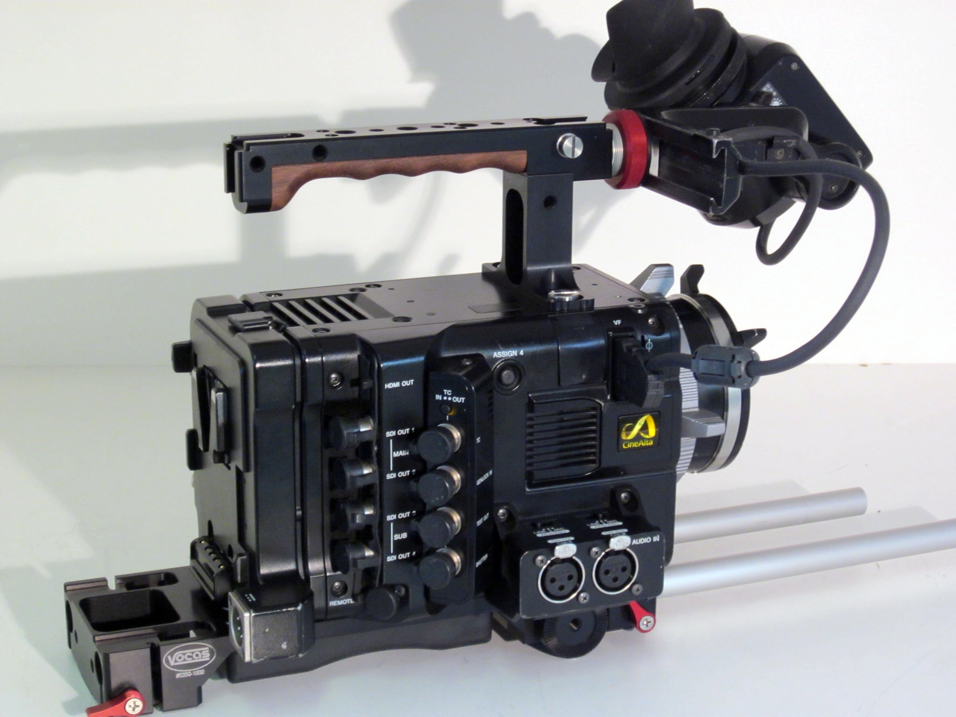 Sony F55   4K camera with PL mount Sony F55 - Image #1