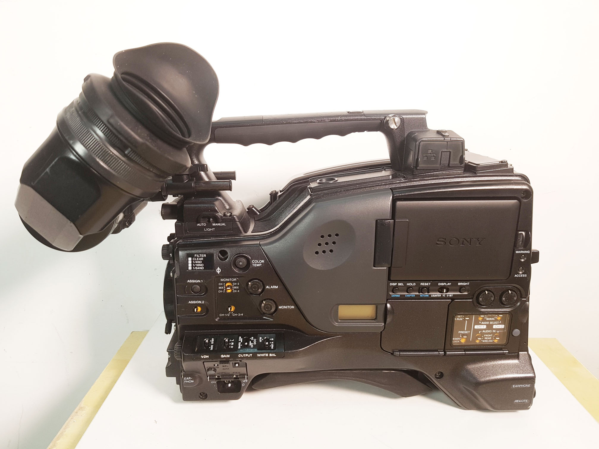 sony pdw 700 hdvf 200 xdcam hd camcorder with ope 3474 rh kitplus com sony pdw 700 user manual sony pdw 700 service manual
