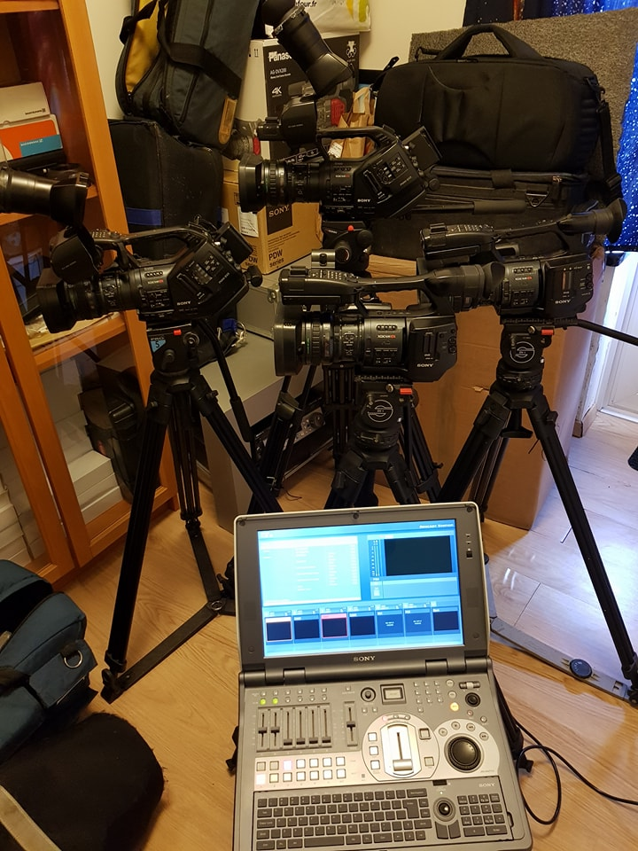 Studio Production Portable Anycast 500 HD + 4XDCAM Studio Production Portable Anycast 500 HD + 4XDCAM - Image #1