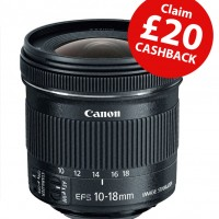 Canon EF-S 10-18mm f4.5-5.6 IS STM Zoom Lens