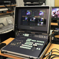 DataVideo HS 2000 Studio mobile HD - 5 canaux SDI & DVI