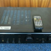 DENON PMA-355 UK Black Sound System Amplifier With Remote