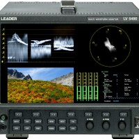 LV5490- 12G/3G/HD/SD-SDI WAVEFORM MONITOR
