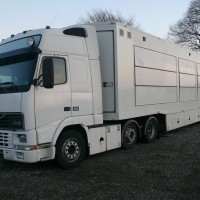 HD OB trailer ready for production but without cameras and EVS
