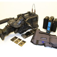 complete HD camcorder ENG SET with many accessories