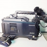 P2 HD camcorder with VF viewfinder