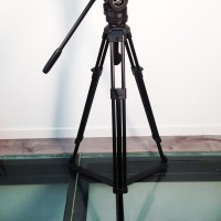 FSB4 tripod head + alu tripod 75mm bowl - revised - excellent condition