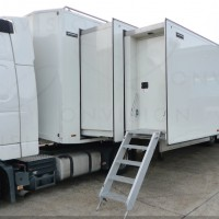 Triple Expanding 30 Camera HD OB Trailer with option of 14 Sony HDC-1500/1000 Cameras Systems included.