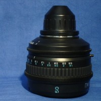 Sony 50 mm PL mount set of prime lenses
