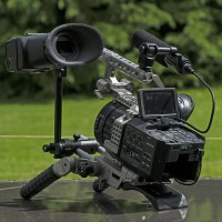 My FS700 with RAW, Alphatron EVF, Brachet, Movcam Rig and batteries, Boxed.