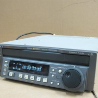 Sony J-3 SDI Compact Player Plays Betacam SX, SP, Tape, MPEG IMX PAL & NTSC