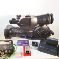 XDCAM EX Camcorder with 640 hrs + accessories