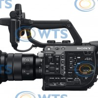 4K Super35 E-mount camcorder with lens
